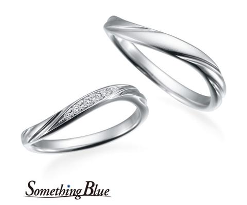 【新作】SB777/778 結婚指輪 【サムシングブルー】