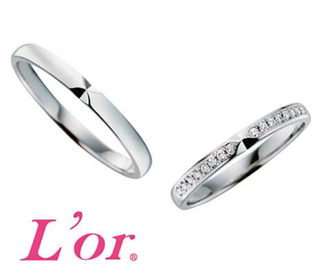L'or®︎ LPP031 結婚指輪